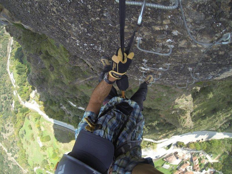 Rock Climbing Photo: Via Ferrata in Spain