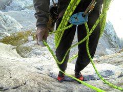 Rock Climbing Photo: On Naranjo, Spain