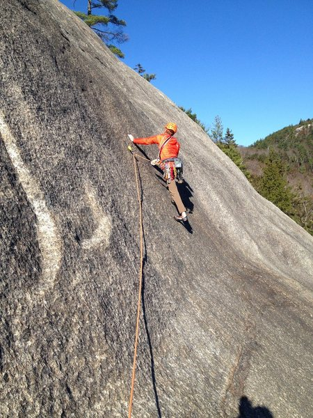 """Rock Climbing Photo: I replaced this 40 year old 1/4"""" bolt a few d..."""