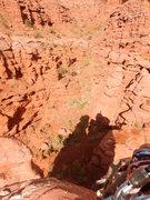 Rock Climbing Photo: Summit silhouette.