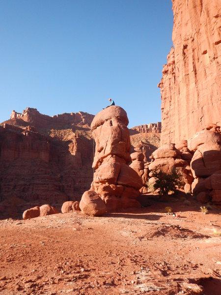 Rock Climbing Photo: The Hunchback.