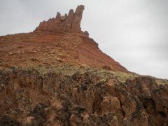 Rock Climbing Photo: Cryptobiotic soil abounds!!!