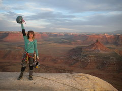 Rock Climbing Photo: Victory on an indescribable summit!