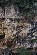 Rock Climbing Photo: Fox Confessor, Requiem, Mermaid from L to R
