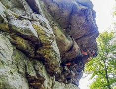 Rock Climbing Photo: Annapolis rocks