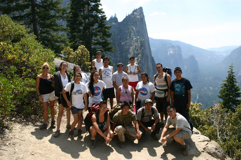 A group from Outward Bound Adventures that borrowed our gear to bring their kids to Yosemite!