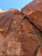 Rock Climbing Photo: Wip on the FA