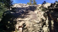 Rock Climbing Photo: South Goose Egg, east face from southernmost part ...