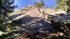 Rock Climbing Photo: South Goose Egg, east face from northernmost part ...
