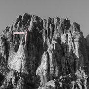Rock Climbing Photo: Blade Runner.