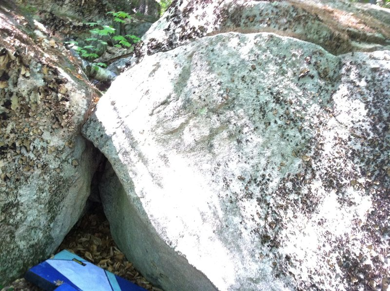 Rock Climbing Photo: Start down in the little hold as far as you can an...