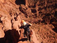 Rock Climbing Photo: Going mad on the summit ridge of Gothic Nightmare