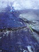 Rock Climbing Photo: First pitch of Prune