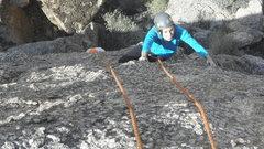 Rock Climbing Photo: Elizabeth Wyatt on Tammy Pentacost
