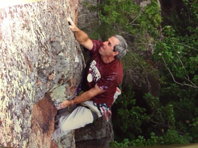 Rock Climbing Photo: Push  5.12c