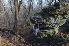 Rock Climbing Photo: Bouldering at Oglesby