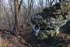 Bouldering at Oglesby