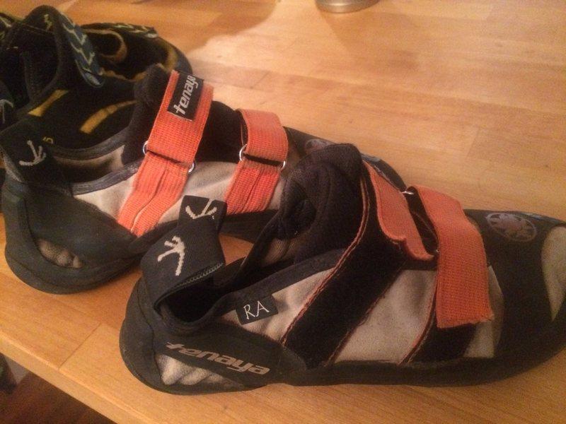 Tenaya RA climbing shoes