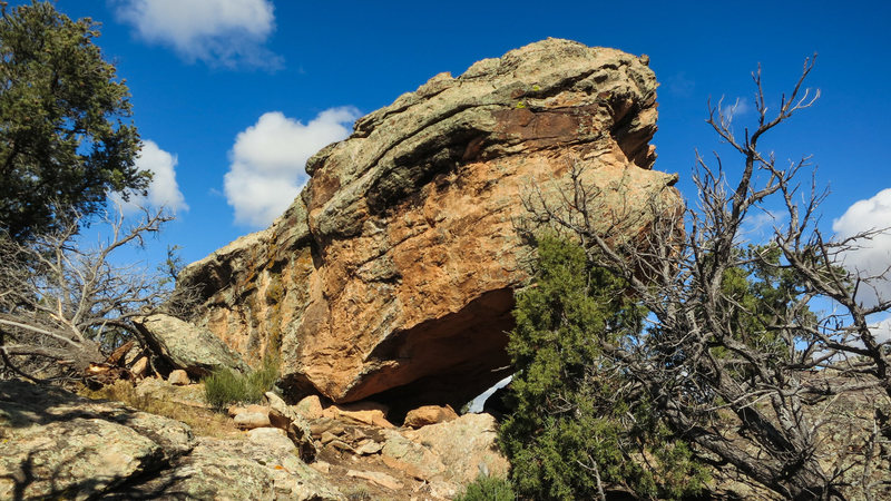 Rock Climbing Photo: Monument's south face.