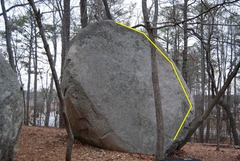 Rock Climbing Photo: Sourwood Arete