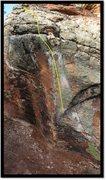 Rock Climbing Photo: Inseminator Hymn problem beta.