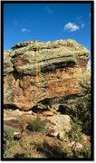 Rock Climbing Photo: Shy To Fly problem beta.