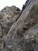 Rock Climbing Photo: Resting at the sofa jug.