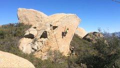 Rock Climbing Photo: Casey Van Gelderen high up on Stairway to Heaven