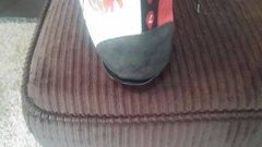 Left heel needs some glue love.