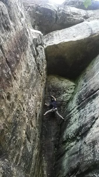 Rock Climbing Photo: Essence of Manky