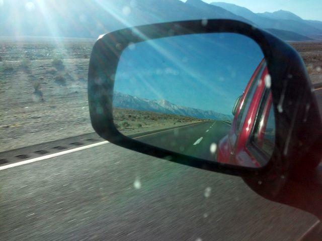 Rock Climbing Photo: Heading up 395, Sierra Eastside