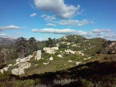 Rock Climbing Photo: Slide Peak from the west, Keller Peak