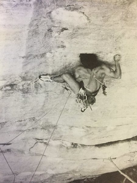 Gunks. The Sting.  Circa 1984 Those were the days!