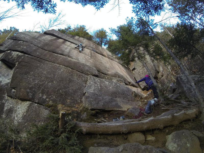 Rock Climbing Photo: Trois étoiles