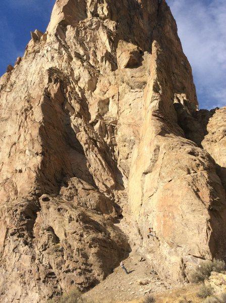 Rock Climbing Photo: Hank Wall