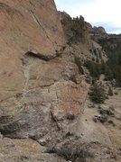 Rock Climbing Photo: Roof section, A Big Tease
