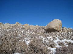 Rock Climbing Photo: The Grandpa Peabody Boulder