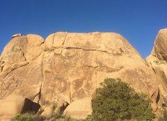 Rock Climbing Photo: 90% feet.