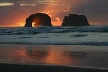 Rockaway Beach sea stacks.