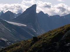 The Tolkeinesque Thor Peak on Baffin Island.