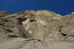 Rock Climbing Photo: Descending from Heart Ledge