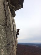 Rock Climbing Photo: This pitch is G