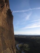 Rock Climbing Photo: Top of Moons of Pluto, Smith Rock State Park
