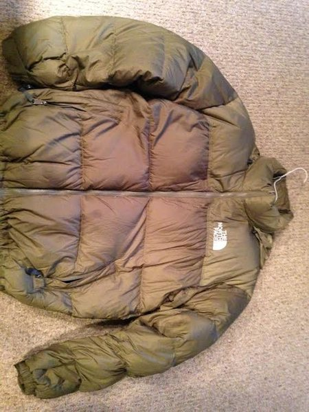 North Face Down Jacket, 700 fill- Size XL- 70.00