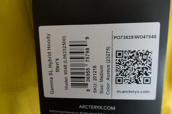 Arcteryx Gamma SL Hybrid Hoody