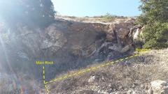 Main Rock and Boulders