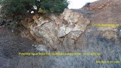 Rock Climbing Photo: Detailed view of Main Rock