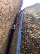 Rock Climbing Photo: Upper I Chicken.