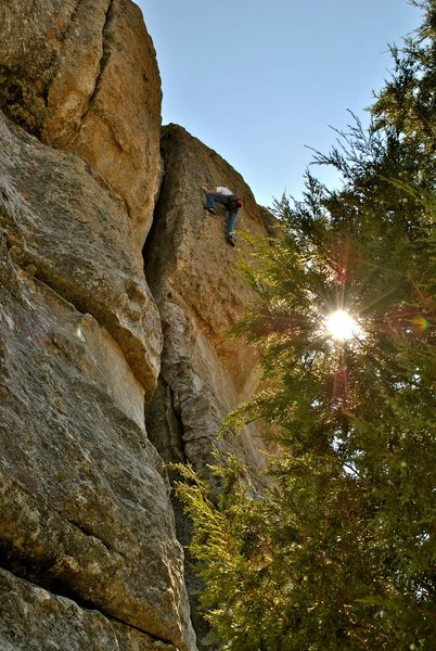 Rock Climbing Photo: Great climb