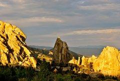 Rock Climbing Photo: Late summer evening